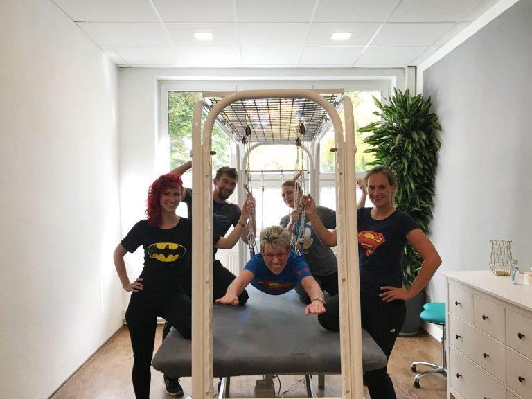 Bewegungsexperten Team Physiotherapeuten